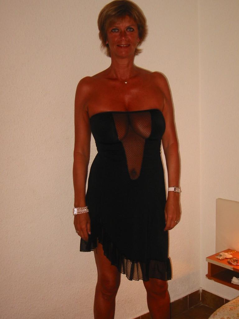54-летняя француженка Мари