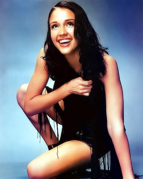 Интимные фото знаменитости Джессики Альбы